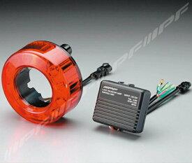 LEDテールランプ 車検対応 LED丸形テール&ストップランプ 1個 IPF (TL-01