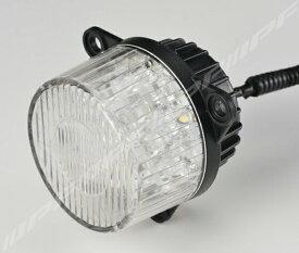 LEDヘッドライトランプ ウインカーランプ 車検対応 丸形LEDウインカー フロント専用 キャンセラー付属 1個 IPF (TL-02WUF
