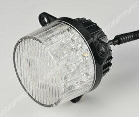 LEDテールランプ ウインカーランプ 車検対応 丸形LEDウインカー リア専用 キャンセラー付属 1個 IPF (TL-02WUR
