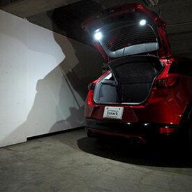 プリウス LEDカーゴランプ 30系 LEDIST パネル ブラック Junack/ジュナック (LCL-TY10