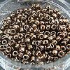 【丸小ビーズ・ブロンズ】高品質日本製丸小ビーズ1.9mm約970ヶ(10g)