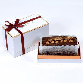 ダロワイヨ ハロウィン ギフト 退職祝 お返しチョコレート ショコラノワゼット チョコレート味 パウンドケーキ お誕生日 内祝 プチギフト ブライダル 引き菓子 楽ギフ_包装