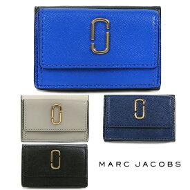 マークジェイコブス 財布 MARC JACOBS 三つ折り財布 レディース コンパクト財布 三つ折り Snapshot Mini Trifold (全4色)【M0014492】【M0013597】
