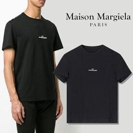 【年に一度の大決算SALE】MAISON MARGIELA Tシャツ メゾンマルジェラ Tシャツ 半袖 メンズ ミニロゴ mini logo T-shirts (900 / BLACK)【S30GC0701-S22816】
