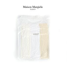MAISON MARGIELA パックT メゾンマルジェラ Tシャツ 無地 半袖 メンズ Pack of 3 T-shirts 【S50GC0552-S22431】2019秋冬商品