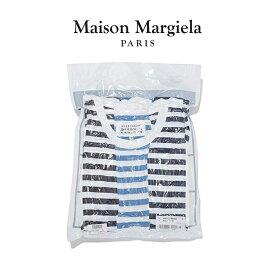 MAISON MARGIELA パックT メゾンマルジェラ Tシャツ ボーダー 半袖 メンズ Pack of 3 T-shirts 【S50GC0608-S23597】2020春夏商品
