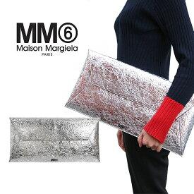 MM6 クラッチバッグ MAISON MARGIELA エムエムシックス メゾン マルジェラ LARGE ENVELOPE CLUTCH (T9002 / SILVER)【S41UI0051-P1939】