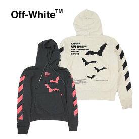 【楽天スーパーSALE・スーパーDEAL】OFF-WHITE パーカー オフホワイト メンズ フーディー スウェット長袖 DIAG BATS SLIM HOODIE (全2色)【OMBB034E19D25007】