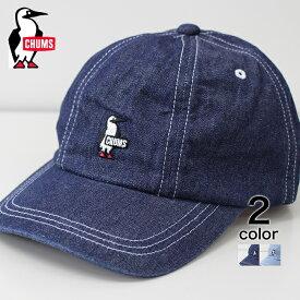 【CHUMS】 チャムス デニムキャップキャップ メンズ レディス 帽子 キャップ ローキャップ シンプル おしゃれ プレゼント 日よけ デニム