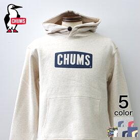 【CHUMS】チャムスロゴプルオーバーパーカー パーカー メンズ ナチュラル グレー ネイビー クレイジー