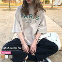 【7/17再販 メール便対応】 オルチャン tシャツ 春 夏 レディース 韓国 ファッション ビッグシルエット 体系カバー 着やせ フリーサイ…