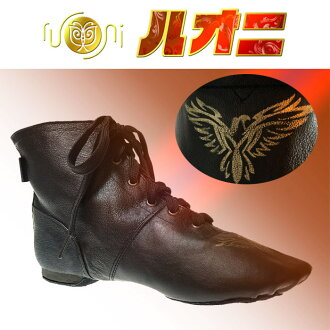 爵士鞋ENJ-5-A/★超轻量!从专业式样★舞蹈初学者到熟练的人爱用中间高cut《jazubutsujazudansudansushuzusarusachiadansuzumba》