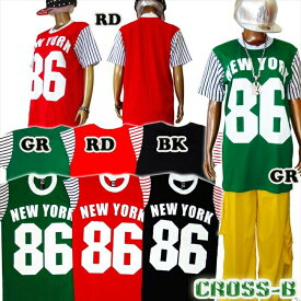 NewYork86 Tシャツ (A1275)CROSS-B