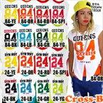 カラフルタンク+ロゴTシャツ2点セット(A0680)CROSS-B