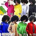 サテン長袖シャツ ダンス衣装 (A1914)CROSS-B