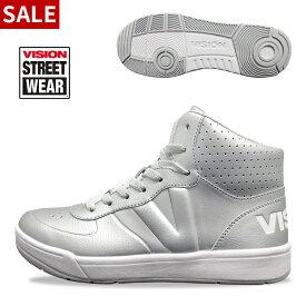 【送料無料】 VISION ダンスシューズ ハイカット ダンススニーカー ジャズシューズ ジャズダンス シューズ ヒップホップ ズンバ ファッション ストリート 靴 レディース メンズ 女性 男性 黒 白 赤 ブラック ホワイト レッド ヴィジョン ビジョン VSW-7111