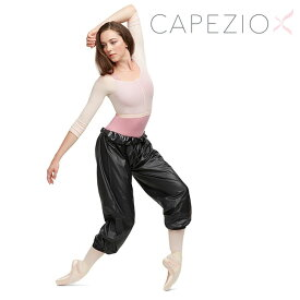 サウナパンツ サウナスーツ ロング ダイエット 発汗 バレエ エクササイズ ダンス Capezio カペジオ 10848W