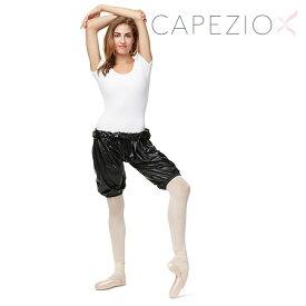 サウナパンツ サウナスーツ ショート ダイエット 発汗 バレエ エクササイズ ダンス Capezio カペジオ 10849W