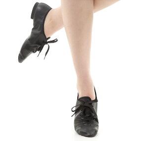 ジャズダンスシューズジャズシューズダンスシューズ合成皮革ゴム底チアダンスチアリーディング新体操白ホワイトブラック黒ZUMZJS5-G