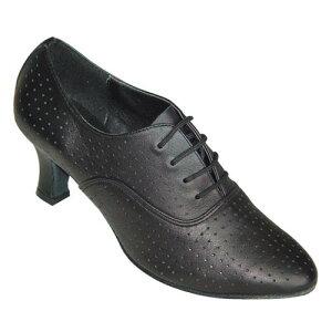 ダンスシューズ・社交ダンスシューズ・レディース【セミオーダー】女性ティーチャーズシューズ・黒ブラック333001セミオーダー品ですのであなたにぴったりの1足がつくれますよ♪