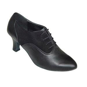 ダンスシューズ・社交ダンスシューズ・レディース【セミオーダー】女性ティーチャーズシューズ・黒ブラック680801セミオーダー品ですのであなたにぴったりの1足がつくれますよ♪