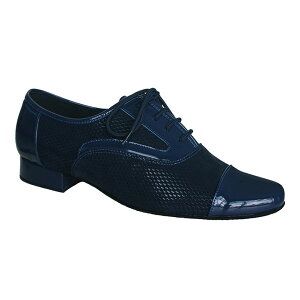 ダンスシューズ・社交ダンスシューズ・メンズ【セミオーダー】男性モダンシューズ・紺ネービー916205セミオーダー品ですのであなたにぴったりの1足がつくれますよ♪