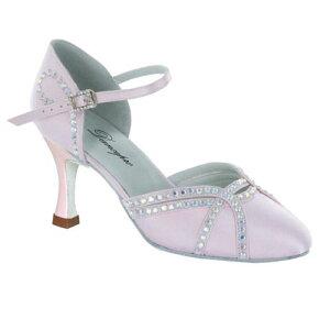 ダンスシューズ・社交ダンスシューズ・レディース【セミオーダー】女性兼用シューズ・ピンク685404セミオーダー品ですのであなたにぴったりの1足がつくれますよ♪