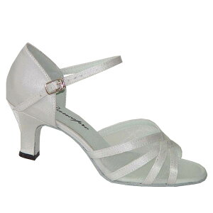 ダンスシューズ・社交ダンスシューズ・レディース【セミオーダー】女性ラテンシューズ・白ホワイト160502セミオーダー品ですのであなたにぴったりの1足がつくれますよ♪