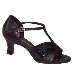 ダンスシューズ・社交ダンスシューズ・レディース【セミオーダー】女性ラテンシューズ・黒ブラック160801セミオーダー品ですのであなたにぴったりの1足がつくれますよ♪