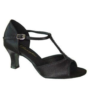 ダンスシューズ・社交ダンスシューズ・レディース【セミオーダー】女性ラテンシューズ・黒ブラック160909セミオーダー品ですのであなたにぴったりの1足がつくれますよ♪