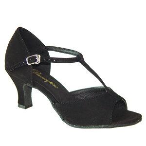 ダンスシューズ・社交ダンスシューズ・レディース【セミオーダー】女性ラテンシューズ・黒ブラック160924セミオーダー品ですのであなたにぴったりの1足がつくれますよ♪