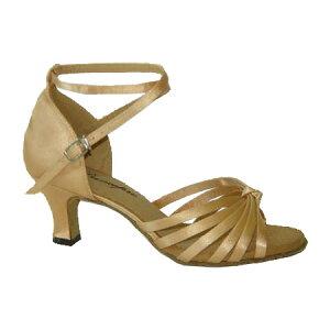 ダンスシューズ・社交ダンスシューズ・レディース【セミオーダー】女性ラテンシューズ・ベージュ166401セミオーダー品ですのであなたにぴったりの1足がつくれますよ♪