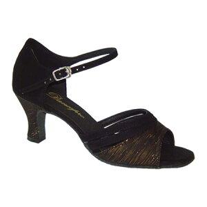 ダンスシューズ・社交ダンスシューズ・レディース【セミオーダー】女性ラテンシューズ・茶ブラウン172102セミオーダー品ですのであなたにぴったりの1足がつくれますよ♪