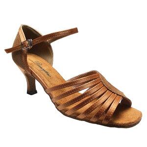 ダンスシューズ・社交ダンスシューズ・レディース【セミオーダー】女性ラテンシューズ・ベージュ175701セミオーダー品ですのであなたにぴったりの1足がつくれますよ♪