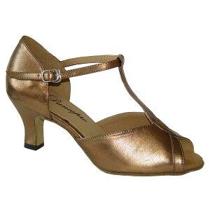 ダンスシューズ・社交ダンスシューズ・レディース【セミオーダー】女性ラテンシューズ・茶ブラウン169103セミオーダー品ですのであなたにぴったりの1足がつくれますよ♪