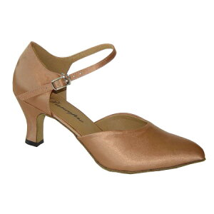 ダンスシューズ・社交ダンスシューズ・レディース【セミオーダー】女性兼用シューズ・ピンクベージュ691007セミオーダー品ですのであなたにぴったりの1足がつくれますよ♪