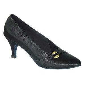 ダンスシューズ・社交ダンスシューズ・レディース【セミオーダー】女性モダンシューズ・黒ブラック691401セミオーダー品ですのであなたにぴったりの1足がつくれますよ♪