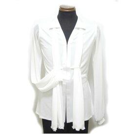 【新入荷】ラテン ジャケット(M/L) 4613 パピヨン 社交ダンス メンズ ショール付き ホワイト シャツ カラー