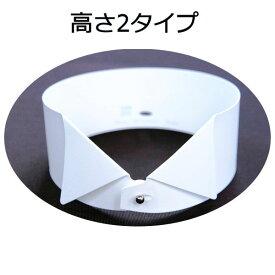 プラカラー 東京トリキン 社交ダンス 衣装 燕尾服 用 プラスティック カラー 高さは2タイプ(3.5cm幅・4.5cm幅)