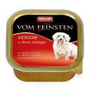 [82622] アニモンダ フォムファインステンシニア 牛肉 豚肉 鳥肉 150g [ ドッグフード ] animonda 犬用 ドイツ ドッグ ウェット
