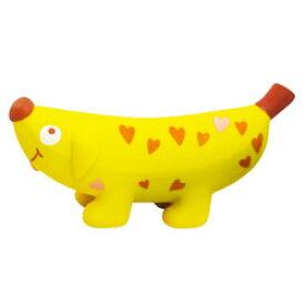 プラッツ バナナドッグ ハート [ 取寄せ1週間前後 犬用 おもちゃ PLATZ ]
