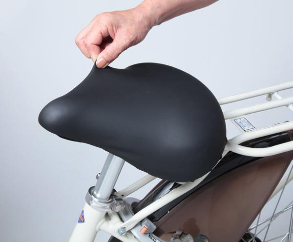 エントリーでポイント10倍以上[3個までゆうパケット送料250円]自転車用サドルカバー 川住製作所 サドルカバー フィット KW-228 ※シティサイクル用です。スポーツ自転車には対応していません。