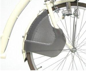 自転車の前用巻き込み防止ガード フロントガード FG-002 スモーク チャイルドシートの足の巻き込み防止 子供乗せ