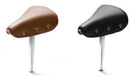 キャッシュレス5%還元[送料無料]直付けテリー型サドルポスト付 GR3502 ポスト径φ25.4mm シートポスト付きのテリー型の自転車サドル