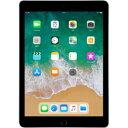 【5%還元対象】[新品] Apple アップル 2018年 iPad 9.7インチ Wi-Fiモデル 128GB スペースグレイ MR7J2JA 4549995017380