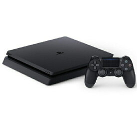 [新品]SONY PlayStation 4 プレイステーション4 CUH-2200AB01 [500GB ジェット・ブラック] 本体 4948872414647