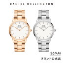 【公式限定新作/2年保証/送料無料】ダニエルウェリントン メンズ レディース 腕時計 Iconic Link 36mm メタル アイコ…
