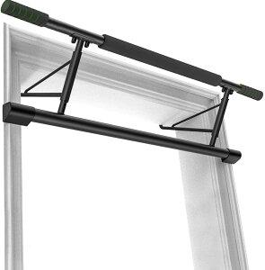 ドアジム 懸垂バー チンアップバー チンニングバー ドア用 懸垂マシンマルチエクササイズ 背筋 腹筋 筋力トレーニング 腕立て 懸垂 自宅 トレーニング耐荷重200kg 日本語説明書付き