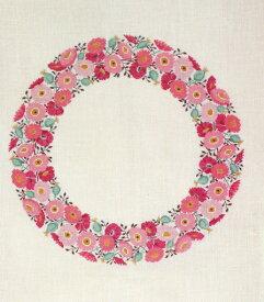 フレメ クロスステッチ 刺繍キット 【GARLAND OF EVERLASTING FLOWERS 】 デンマーク 輸入ししゅうキット