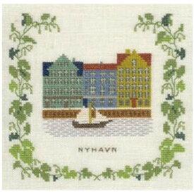 フレメ クロスステッチ 刺繍キット 【NYHAVN 】 小さい作品 デンマーク 輸入ししゅうキット